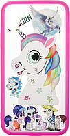 Чехол TOTO Чехол-накладка TOTO TPU Сartoon Network Case IPhone X Pink Unicorn F_56740