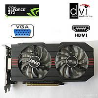Asus nVidia GeForce GTX 750 Ti / 2GB GDDR5 / 128-bit / 2x DVI, HDMI, VGA
