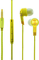 Наушники TOTO Наушники TOTO Earphone Mi5 Metal Yellow F_52616