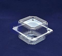 Пластиковый контейнер, блистер ПС-6, 118*118 оюъем 400 мл