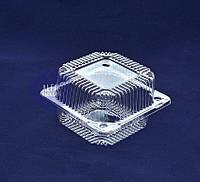 Пластиковый контейнер, блистер 155*150*72 мл, 1 литр