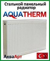 Стальной радиатор Aquaterm класс 11 500*1800 бок. подкл.