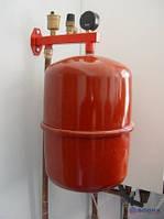 Замена расширительного бака газовых конденсационных котлов