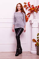 Свитер YuLiYa Chumachenkо Женский свитер серого  цвета  от YuLiYa Chumachenkо 240