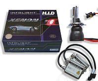 Биксенон. Установочный комплект Infolight H4 H/L 4300K 35W