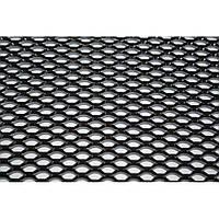 Сетка радиатора универсальная черная 1х0,3м (ячейка 7*11мм)