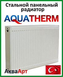 Стальной радиатор Aquaterm класс 22 500*600 бок. подкл.