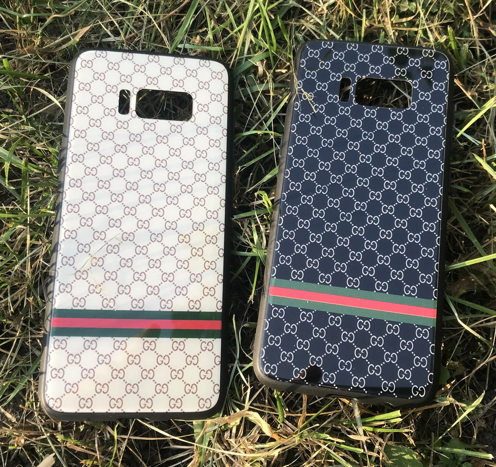 Зеркальный чехол Gucci для Samsung Galaxy S8 Plus G955