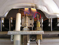 Чистка запальника газовой колонки
