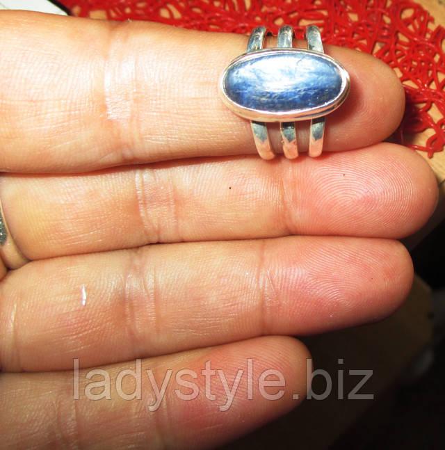 купити срібне кільце з танзанитовым кварцом прикраси сапфір подарунок