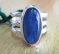 Серебряное кольцо с  кианитом, размер 18, фото 1