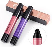 Блеск для губ Moday Сияющий блеск для губ с жемчужным отливом Shimmer Lip Gloss O.TWO.O №5 SKU_777111512452