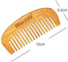 Расческа blue zoo Гребень для волос BLUEZOO из натурального бамбука 1 шт SKU_792