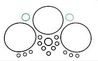 Ремкомплект насоса-дозатора моноблочного рулевого управления НДМ-00.000-02