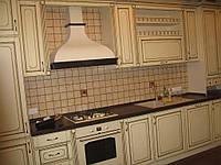 Кухня с фасадом МДФ патина, фото 1