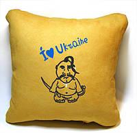 """Сувенирная подушка """"I love Ukraine!"""""""
