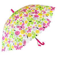Зонтик детскийREAL R50см. бабочки разноцветный