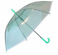 Зонтик-трость REAL 00-645 Сеточка прозрачный силикон