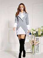 Платье Domenica Модный костюмчик: платье-рубашка и удлиненный пиджак SKU_Р 2035