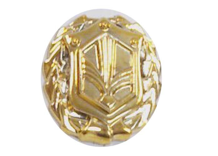 Эмблема войск РХБЗ (золотистая)