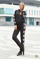Спортивный костюм Domenica Модный спортивный костюм Fendi с лампасами SKU_Р 2295