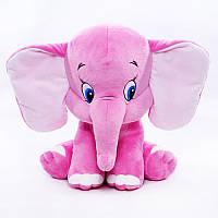Мягкая игрушка розовый слоненок, производство Украина, 00111-2