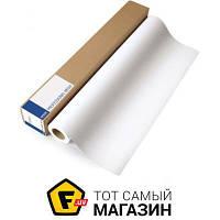 Бумага Epson 350 г/м.кв., рулон 610 мм х 12.2м, сатин (C13S041847) 610 мм — офисная для плоттера 350