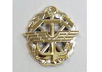 Эмблема службы военных сообщений ДССТ  (золотистая)стар обр