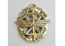 Эмблема ДССТ  (золотистая)стар обр