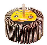 Круг шлифовальный лепестковый зерно 40, со стержнем 6 мм MASTERTOOL 08-2284