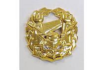 Эмблема инженерных войск (золотистая) старого образца