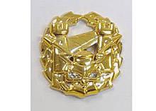Емблема інженерних військ (золотиста) старого зразка