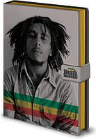 Блокнот Pyramid International Блокнот  Bob Marley / Боб Марли (photo) A5 fabric SKU_6073