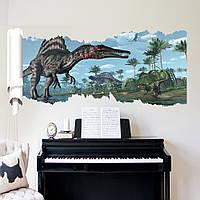 "Фотообои на стену CHINA Фотообои на стену виниловые, виниловая наклейка ""Динозавр"" SKU_ZY-X002"
