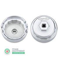 "Съёмник м/фильтра ""чашка"" 64,5/14 мм (4-, 6-, and 8-Cylinder TOYOTA Engines) TOPTUL JDDH6501"