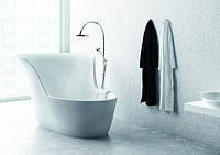 Литая ванная из мрамора, основные характеристики и правила ухода