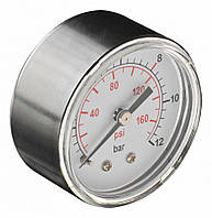 Манометр для сжатого воздуха, диаметр 60 мм, диапазон давления 0-12 бар NEO 12-588