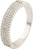 Серебряное кольцо SilverBreeze Серебряное кольцо SilverBreeze с фианитами (0534978) 16 размер SKU_0534978-16