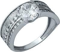 Серебряное кольцо SilverBreeze Серебряное кольцо SilverBreeze с фианитами (0488523) 17 размер SKU_0488523-17