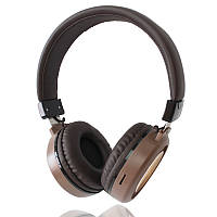 Наушники накладные Bluetooth SY-BT1614 Коричневыe 151038