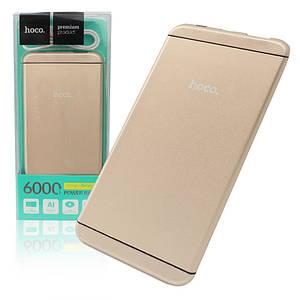 Аккумулятор Power bank Hoco UPB03 I6 6000mAh золотой 150959