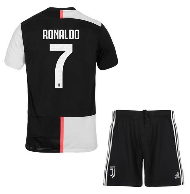 Детская футбольная форма Juventus Ювентус RONALDO,2019-20, (домашняя)