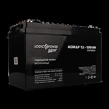 Аккумулятор AGM LP 12V - 100 Ah Silver