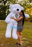 Огромный плюшевый мишка Дейман 210 см белый