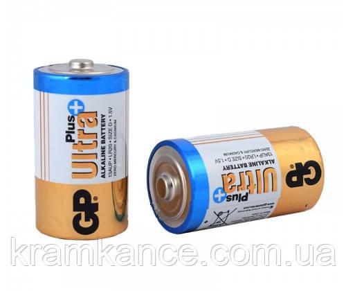 Батарейка GP 13AUP-S2 LR20 Ultra Pllus (2 шт.), фото 2