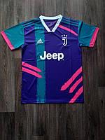 Тренировочная футболка игровая Ювентус/Juventus ( Италия, Серия А ), фиолетовая, сезон 2019-2020, фото 1