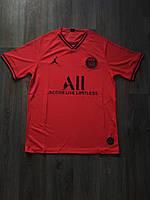 Тренировочная футболка игровая ПСЖ/PSG ( Франция, Лига 1 ), красная, сезон 2019-2020, фото 1
