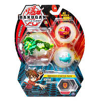 "Bakugan Battle planet: набор из 3х бакуганов ""Вентус Гарганоид"", sm64424-6"