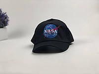 Кепка бейсболка NASA (черная), фото 1