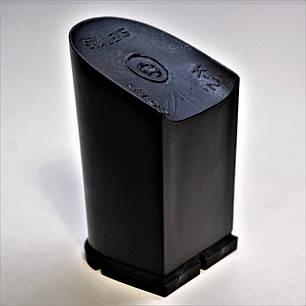 Каблук женский пластиковый 8512 р.1-3  h-7,6-8,2см., фото 2